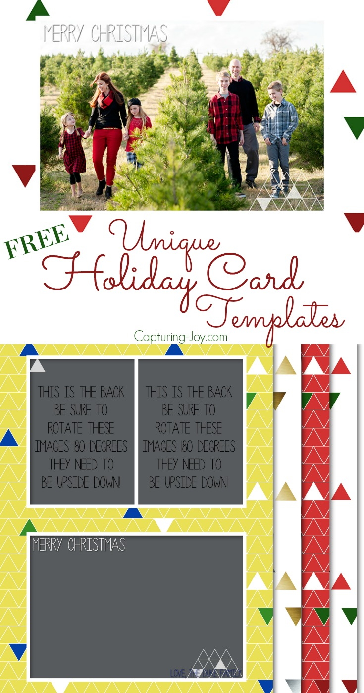 unique holiday card templates for free choose from 4 designs to customize your christmas card