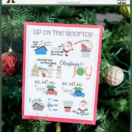 Memorize a Christmas Song: Up on the Rooftop