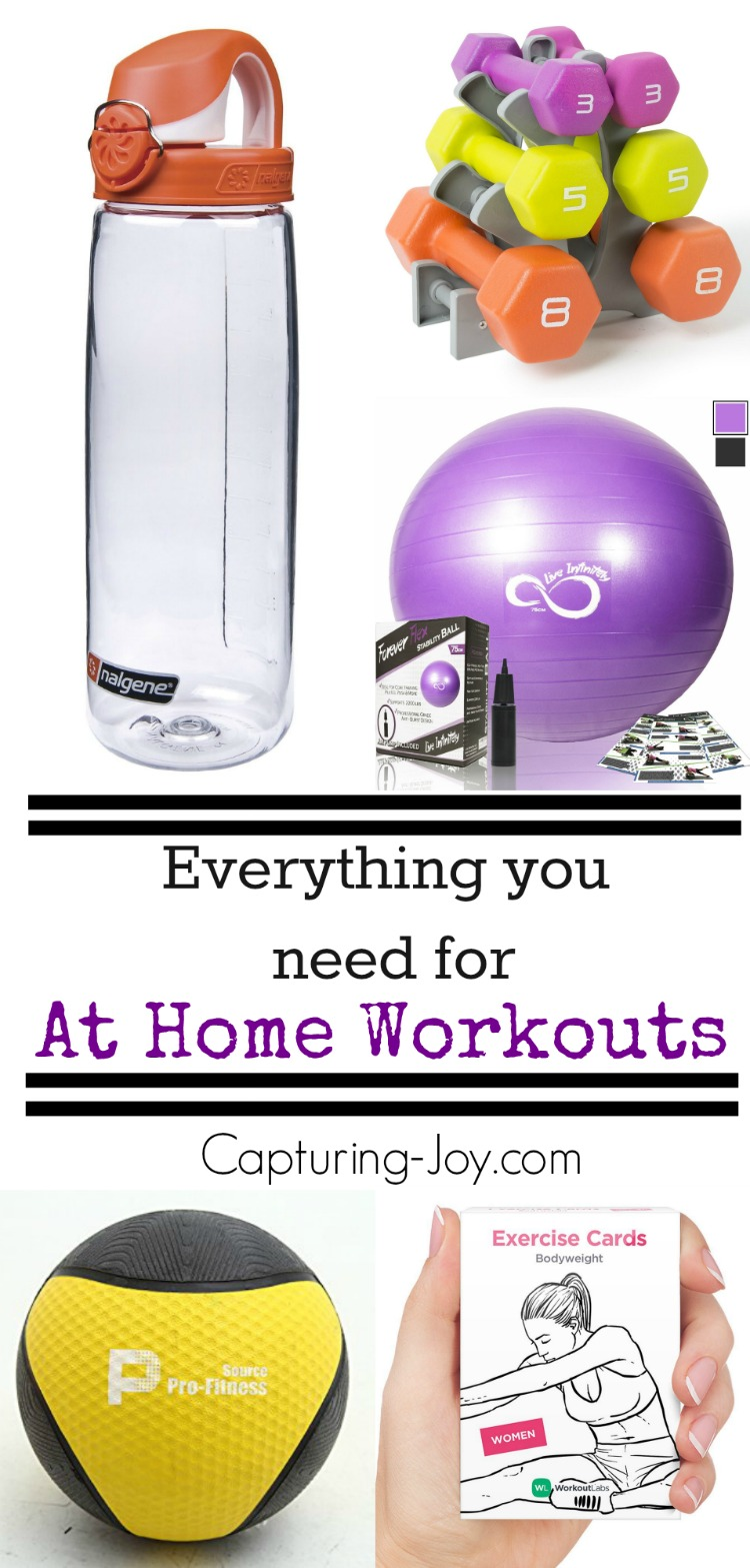 Everything you Need for Successful At Home Workouts - Capturing Joy ...