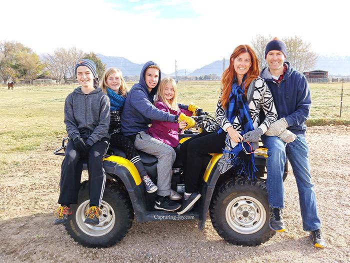family 4 wheeler
