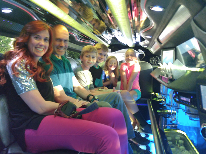 family limo ride