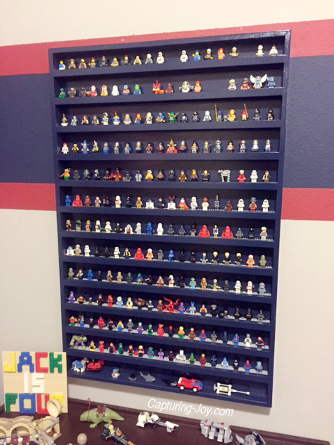 organize star wars lego figures