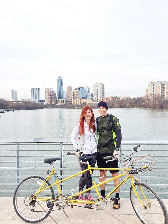 tandem bike in Austin