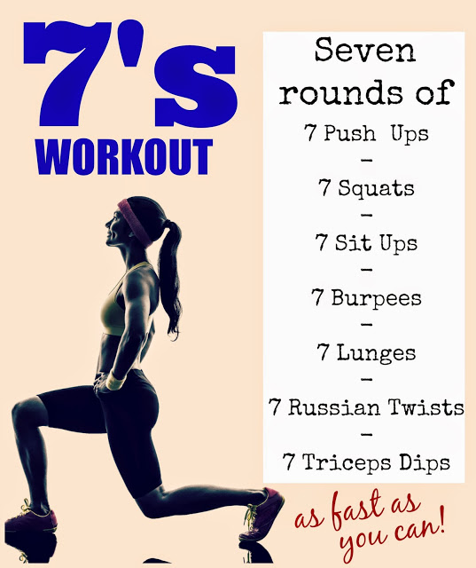 7 HIIT workout
