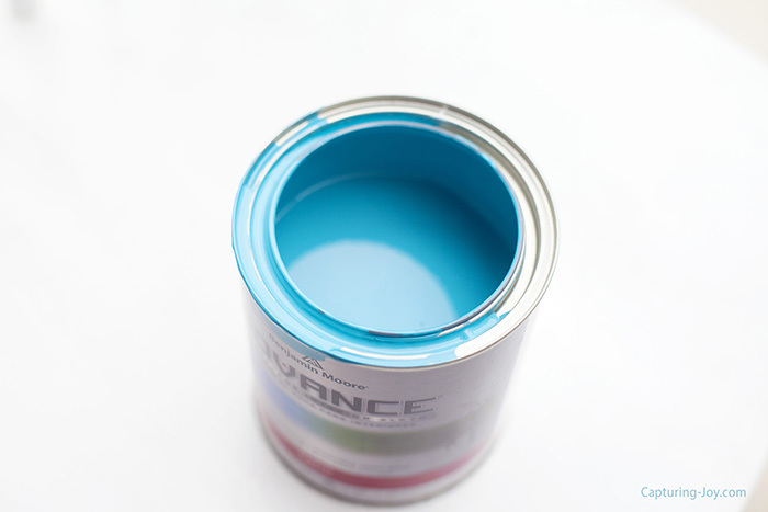 Benjamin Moore Meridian Blue paint color