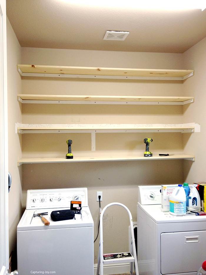 How to Build custom laundry room cabinets