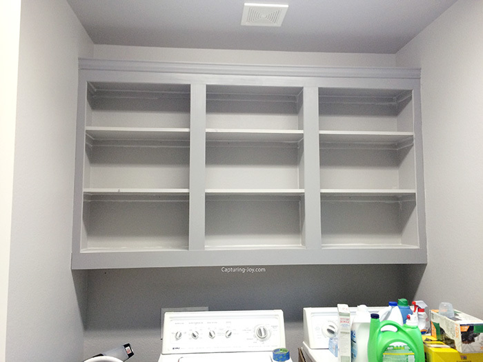 Diy Custom Laundry Room Cabinets