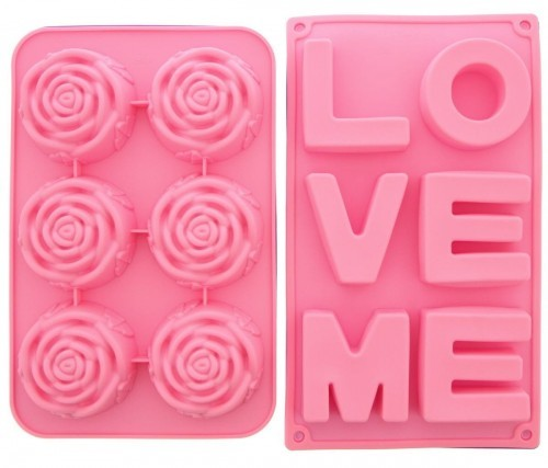 Love Soap Molds for valentines day