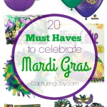 20 Must Haves to Celebrate Mardi Gras this year! Capturing-joy.com