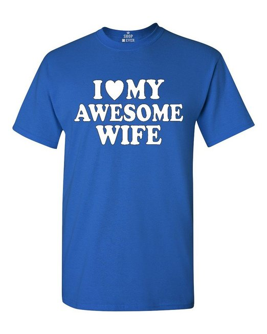 awesome wife t shirt