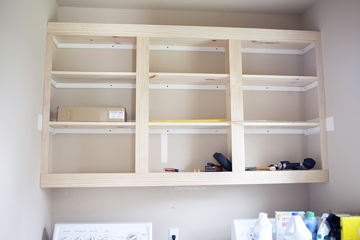 custom cabinets in laundry room