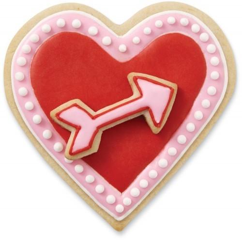 heart arrow cookie cutter