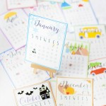 printable holiday calendar 2016