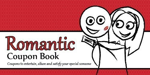 romance coupon book for valentines day