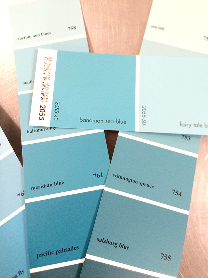 turquoise paint chip colors for custom cabinets in laundry room