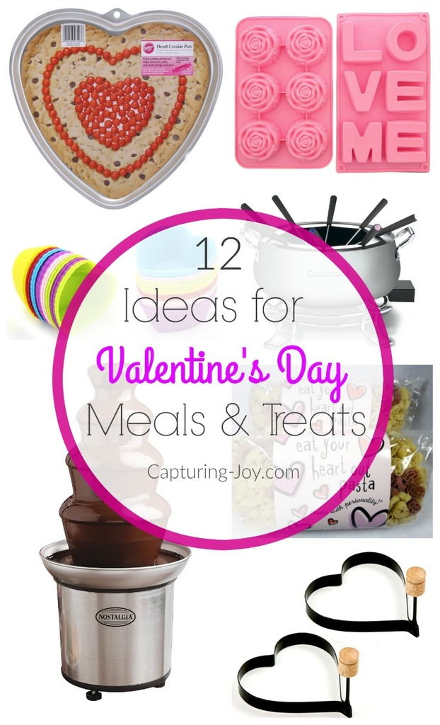 valentines day treat and meal ideas