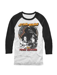 vintage star wars baseball tee