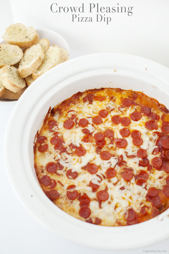 Crowd Pleasing Pizza Dip Recipe