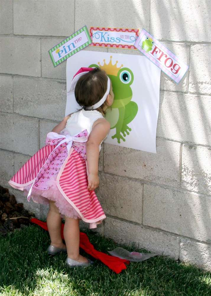 Kiss the frog leap day party idea