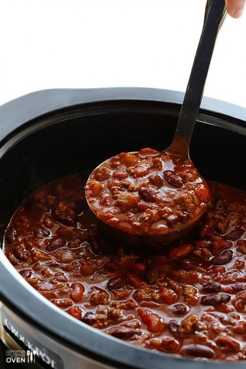 yummy slow cooker chili