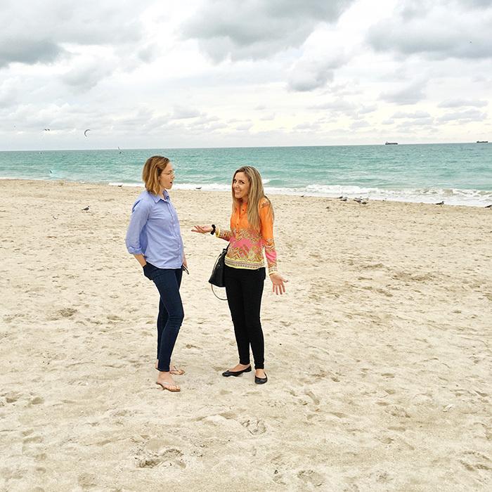 South beach sand