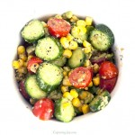 Summer Cucumber Salad Recipe