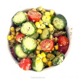 Summer Cucumber Salad Recipe