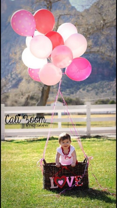 12 Valentine's Day Photography Ideas for Babies and Toddler! Check them all out at Capturing-Joy.com!