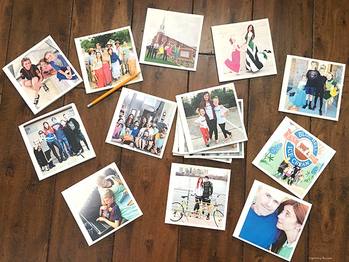 Tips for How to print pictures, including to make chatbooks from instagram photos