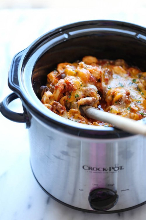 slow cooker tortellini recipe