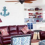 How to book vacation travel with AirBnB beach house cute home decor