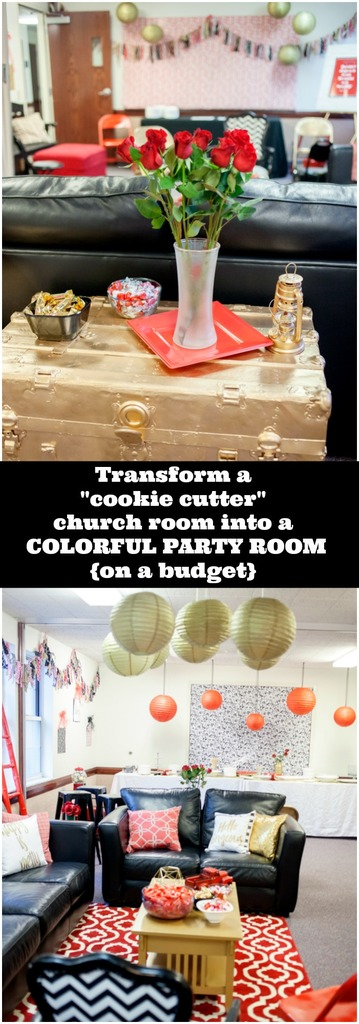 Cookie Cutter to Party Room on a budget