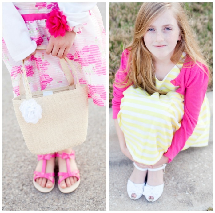 Easter Accessories and sandals for girls
