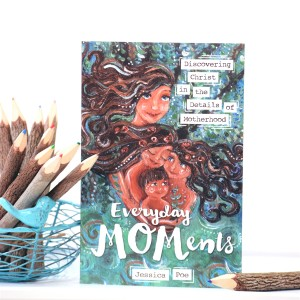Everyday MOMents mothering book