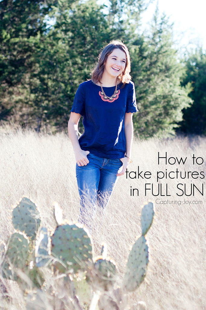 3 simple steps on How to take picture in full sun on manual mode