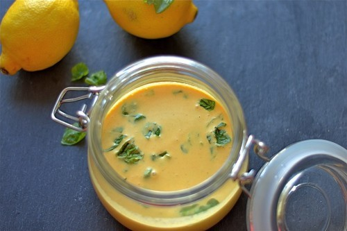 Thai lemon coconut curry dressing recipe