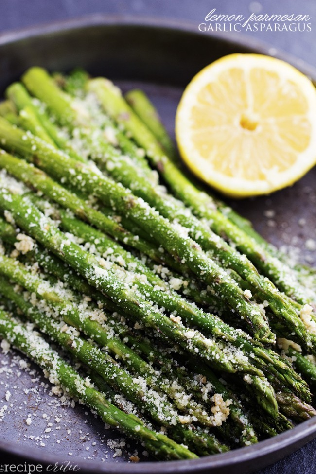 lemon garlic asparagus recipe