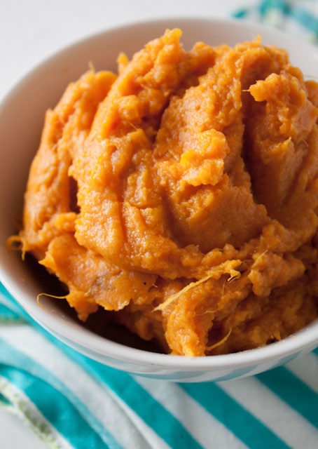 the perfect mashed sweet potatoes recipe