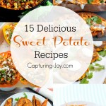 15 of the most delicious and unique recipes using sweet potatoes!