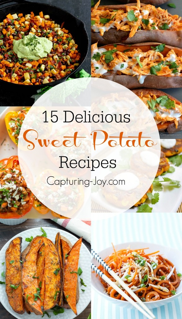 15 sweet potato recipes