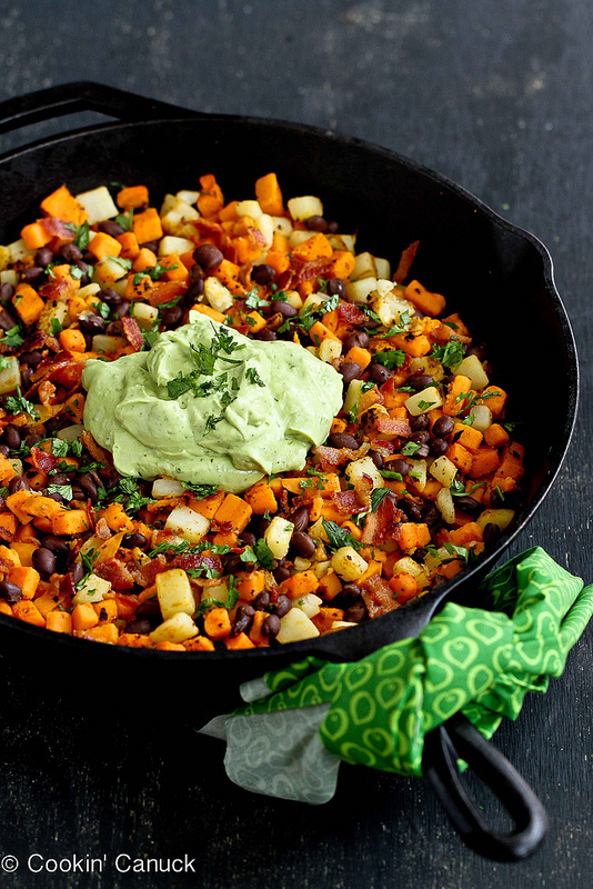sweet potato hash - sweet potato recipes