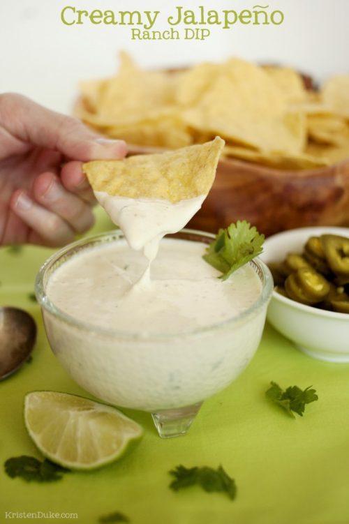 creamy jalapeno ranch dip recipe