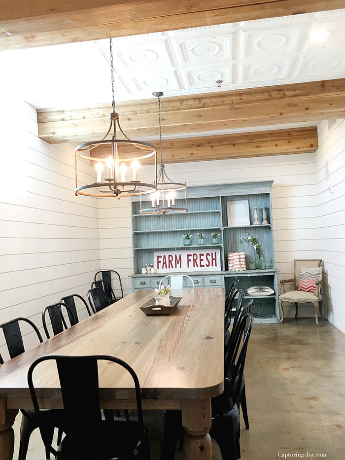 Magnolia Market conference room