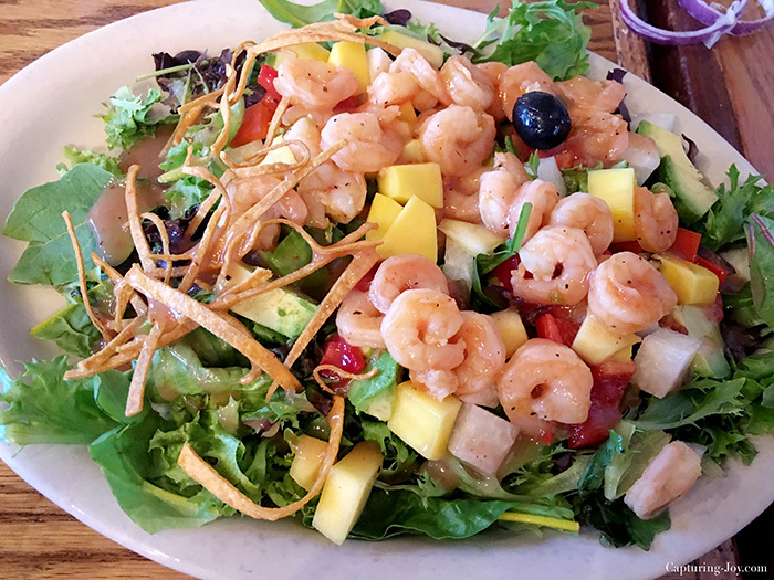 Ninfas shrimp salad