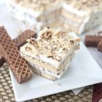 Nutty Bar Ice Cream Cake