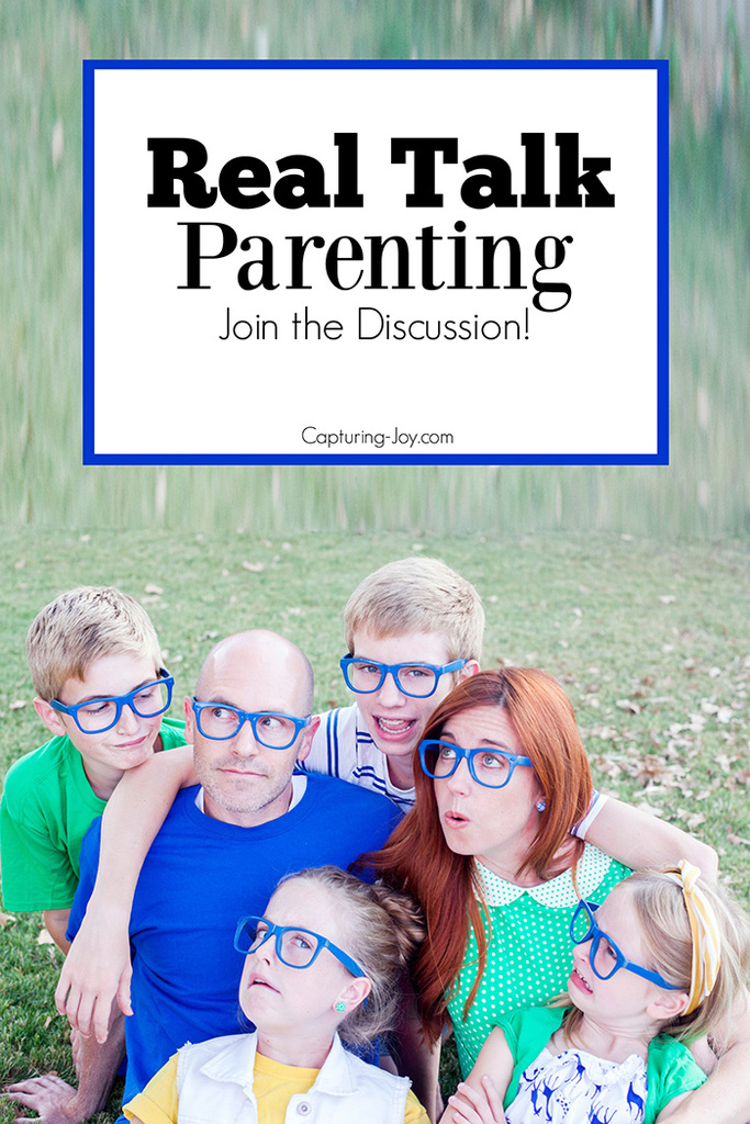 Do you have a parenting topic you'd like discussed? Join the discussion and share your thoughts.