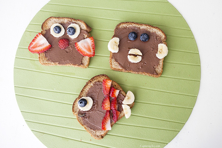 Toast animals