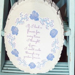 Mother's Day Garden Quote Gift Idea