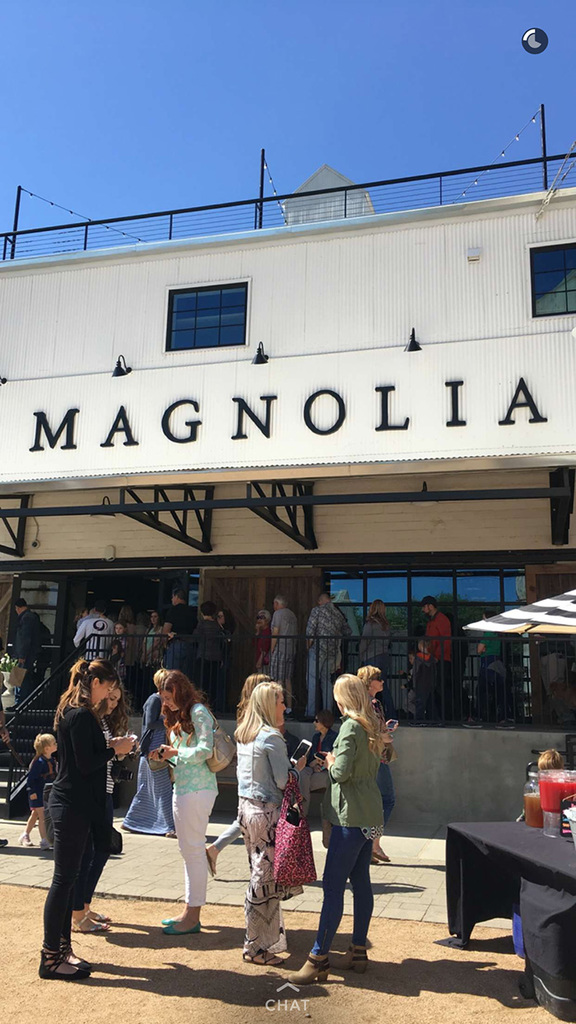 shopping at the Magnolia Market