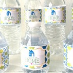 Guest water bottle labels